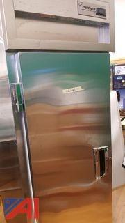 Single Door Upright Freezer