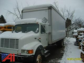 1995 International 4700 Box Truck