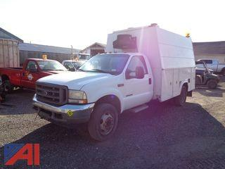 2002 Ford F550 Utility Truck
