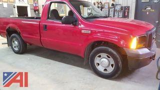 2006 Ford F250 XL Super Duty Pickup Truck