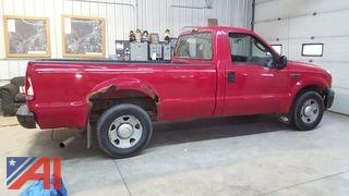 2006 Ford F250 XL Super Duty Pickup Truck