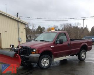 2006 Ford F350 Pickup with Plow