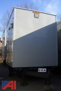 2015 C&B Custom Modular Inc. 14-18719-20 Portable Handicap Restroom Trailer