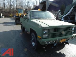 1985 Chevy D30 Pickup