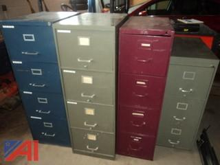 Lot of Filing Cabinets and More