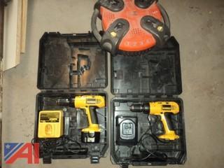 (2) DeWalt XRP 12 Volt Drills