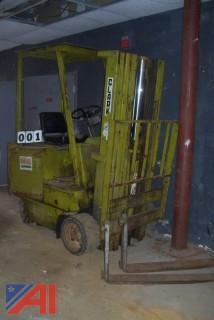 Clark EC500-50F Electric Forklift