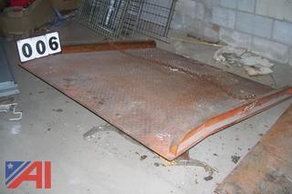 Steel Dock Plate for Forklift