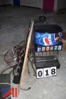 Pepsi Soda Fountain Equipment