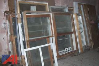 Large Lot of Windows and Doors