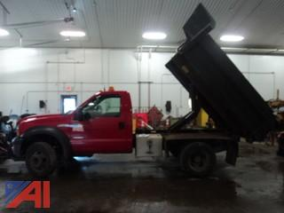 2007 Ford F450 XL Super Duty Dump Truck