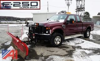 2008 Ford F250 XL SD Pickup Truck with Plow
