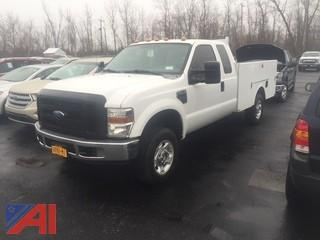 **Reserve Lowered** 2008 Ford F350 Utility Truck