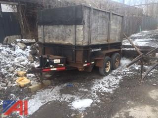 2006 Cam Superlite 12 ft Dump Trailer
