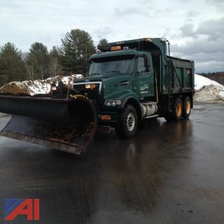 2004 Volvo VHD Dump with Plow & Wing