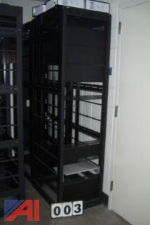 (2) Media Racks
