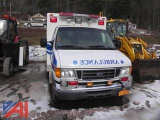 2006 Ford E350 Super Duty Ambulance