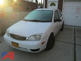 2007 Ford Focus 4 Door