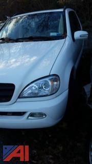 2003 Mercedes Benz ML350 SUV