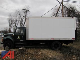 2002 International 4700 Box Truck w/ Lift