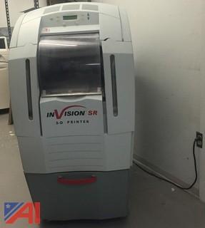 InVision SR 3D Printer