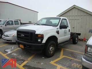 2008 Ford F250 SD Cab and Chassis