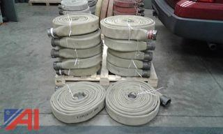 (3) 1 1/2 Forestry 100' Lines Hoses