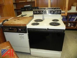 (3) GE Stoves and (1) GE Dishwasher