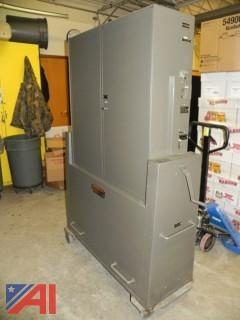 Lot of (2) AVM Automatic Lever Voting Machines