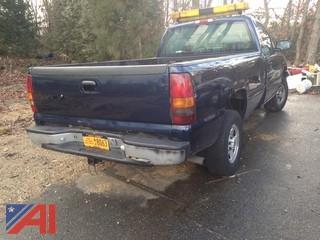 2001 Chevrolet Silverado 1500 Pickup