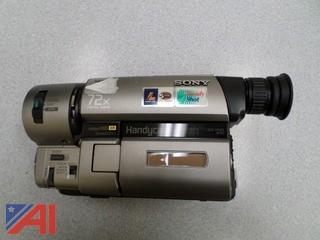 Sony Video Hi8 Steady Shot HandyCam