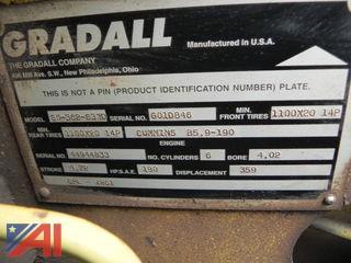 1994 Gradeall GW-362-63WD Telescopic Excavator