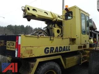 1994 Gradall GW-362-63WD Telescopic Excavator