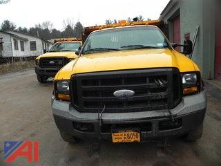 2006 Ford F450 SD Pickup w/ Dump & Plow