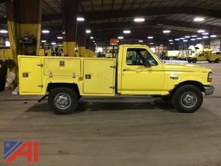 1996 Ford F250 Utility Body Pickup