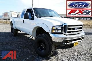 2004 Ford F350 4WD Pickup Truck/Turbo Charged