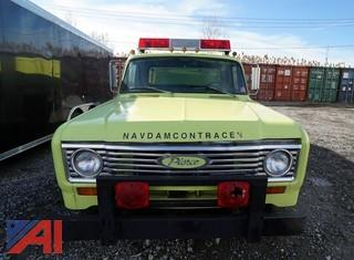 1974 International Harvester/Pierce 500 Pumper Truck