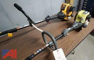 2) Pc Ryobi & Cub Cadet Gas Trimmer & Edger