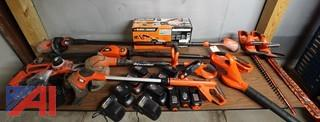 9) Pc 18V Black & Decker Cordless Power Tool Set