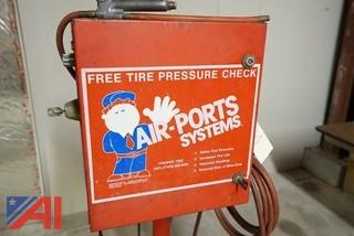 AIR-PORTS Coin Operated Tire Fill Station