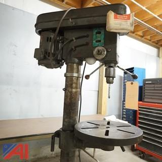 Guardian Power 5-Speed Floor Model Drill Press