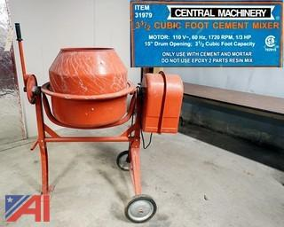 Central Machinery Electric Cement Mixer