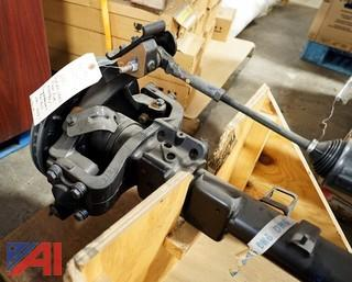 NEW GM Quadrasteer Rear Axel Assembly