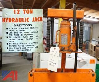 12 Ton Hydraulic H-Frame Press