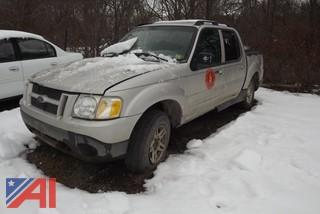 2005 Ford Explorer Sport trac Pickup
