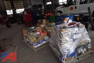 (3) Pallets of New/Old Automotive Stock