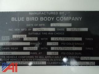 2004 Chevrolet/Blue Bird Express 3500 Mini-Bus