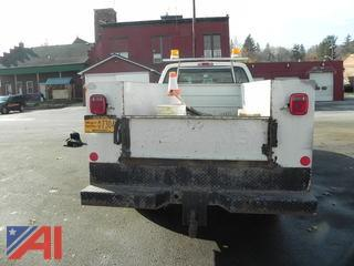 2001 Ford F350 Utility Box w/ Plow