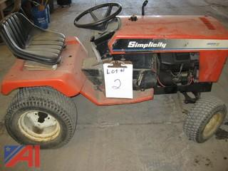 Simplicity Sovereign 18 Hydro Riding Lawn Mower