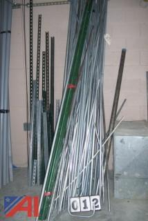 Large Lot of Steel Electrical Pipe